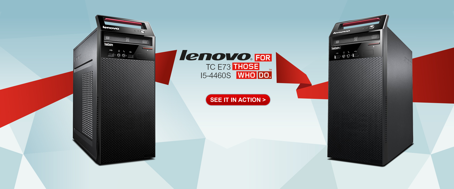 Lenovo TC E73 TOWER I5-4460S